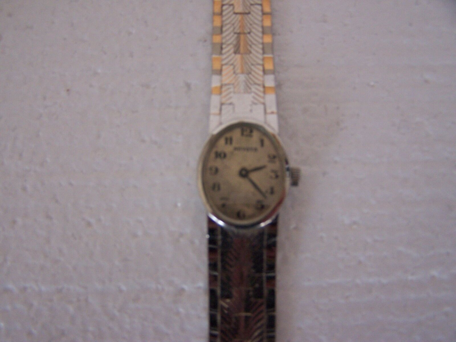 Vintage Miyota watch for repair,complete e-100 image 2
