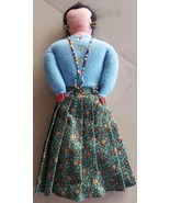 Cute Little Collectible Cloth Doll - OLDER PIECE - NATIVE AMER. OR MEXIC... - $24.74