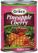 Pineapple Cherry Flavoured Drink 19 Oz (2 Cans) - $29.99