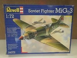 NEW MODEL- REVELL- 04372 SOVIET FIGHTER MIG-3- LEVEL 3- NEW- W50 - $7.02
