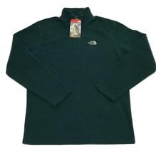 The North Face Men's Fleece Emilio Jacket 1/4 Pullover Top - Green - T0M... - $58.63