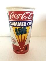 Vintage Coca Cola Mtv Summer Cup GameCoke 1988 XL - $19.79