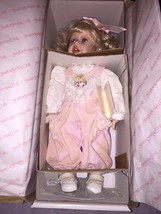 Beautiful Hamilton Collection Porcelain Handcrafted Doll LAUREN Retired ... - $46.55