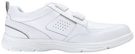Rockport Men Strap State O Motion Casual White Walking Leather Sneaker - $31.45