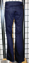 Banana Republic Classic Trouser Leg Women's Size 0 Navy Blue Pants Jeans - $25.15