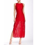 New SEXY RED DRESS Julia Jordan Lace Maxi Dress... - $35.00