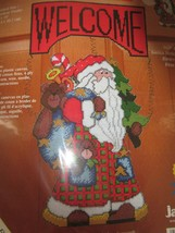 New SugarPlum Express Christmas Greeters Santa Claus Carrying Bag of Toy... - $21.95