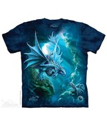 SEA DRAGONS ADULT T-SHIRT THE MOUNTAIN ANNE STOKES - $18.33