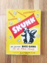 "Vintage 50s Schaper ""SKUNK"" board game"