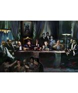 THE LAST SUPPER - MOVIE & TV GANGSTER COLLAGE POSTER 24x36 - - $18.00