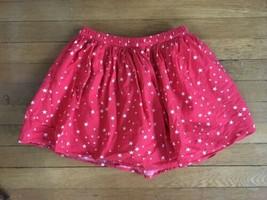 * Gap Kids red white star print americana patriotic skirt size large 10 ... - $9.90