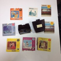 Vintage Sawyers View master Bakelite 1942 With Light Kit And 5 Reel Sets 1 - $65.44