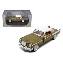 1957 Studebaker Golden Hawk Gold 1/32 Diecast Model Car by Signature Mod... - $28.71