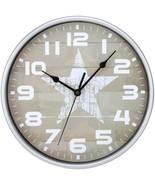 Timekeeper 668012S Star Wall Clock - $28.75