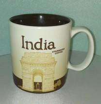 INDIA STARBUCKS Mug / AS IS - READ / 2013 / Coffee Tea Home Office 2ND M... - $24.74