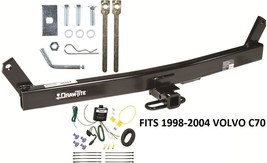 TRAILER HITCH W/ WIRING KIT FITS 1998-2004 VOLVO C70 DRAWTITE CLASS II B... - $221.96
