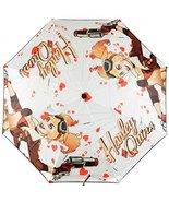 DC Comics HARLEY QUINN Bombshell Compact Folding UMBRELLA - $13.71