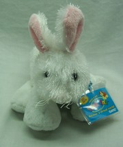 """Ganz Webkinz White Fuzzy Rabbit 7"""" Plush Stuffed Animal Toy New - $15.35"""