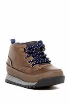 NEW! Carter's Spike2  Boot  Brown/Gray Sz 8 (Toddler) - £19.46 GBP
