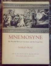 Mnemosyne: The Parallel Between Literature and the Visual Arts by Mario ... - $4.00