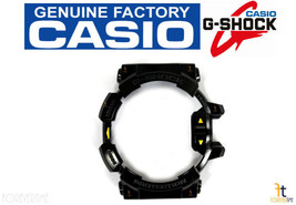 CASIO G-Shock G'Mix GBA-400-1A9 Original BLACK (GLOSSY) Rubber BEZEL Case Shell - $20.19