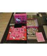 Hello Kitty Junior Scrabble Game 2-Sided Board Complete original box - $14.84