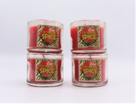 Bath & Body Works Mini Candles Tropical Spice Slatkin 1.3 oz Lot of 4 - $19.99