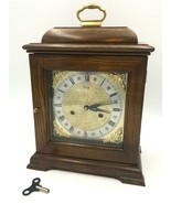 "Vintage Ridgeway Carriage Mantle Chime Clock Wood Key Manual 15"" Not Wor... - $89.99"