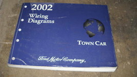 2002 LINCOLN TOWN CAR Electrical Wiring Diagrams Troubleshooting Manual EWD - $8.42