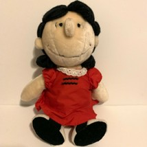 Rare 1982 Vintage Peanuts Lucy Stuffed Doll Determined Productions Plush... - $27.69