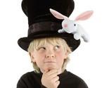 CHILDREN'S SIZE MAGICIAN W/RABBIT HAT FUN @ HALLOWEEN ANYTIME