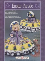 Easter Parade, Fibre Craft Doll Clothing Pattern Booklet FCM235 - $4.95