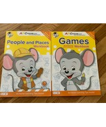 ABC Mouse Early Learning Academy Workbook Homeschoolers People Places & ... - $7.91