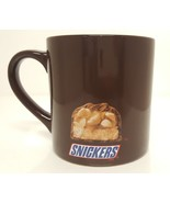 Mars Candy Snickers Collectible Chocolate Peanut Coffee Mug Food Adverti... - $29.68