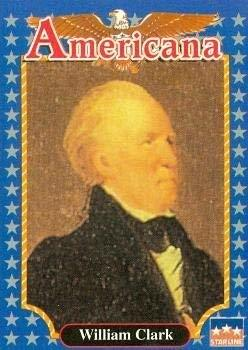 Primary image for William Clark trading card (Explorer and Soldier) 1992 Starline Americana #226