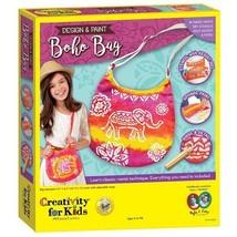 Creativity For Kids Design & Paint Boho Bag - $19.99