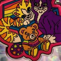ExcCond Vintage Lisa Frank Playtime Kitties Kittens Rare HTF Keychain Keepsake image 1