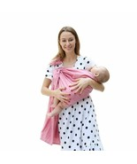 Fabric Breathable Ring Baby Sling Carrier Newborns Lightweight Baby Soft... - $29.90