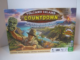 Volcano Island Countdown Complete Electronic 3D Family Board Game Tested... - $20.10