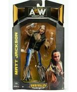 AEW Unrivaled Series 3 MATT JACKSON All Elite Wrestling Action Figure - $25.95
