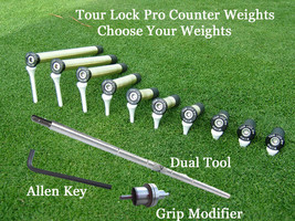 Tour Lock Pro (Limited Time Sale Golf Counter Weights - Choose Your Weights - $343,67 MXN+