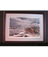 Ducks Unlimited Winter Bluebills by Chet Reneson Signed and Numbered Lmt... - $325.00