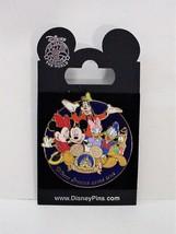 Disney Official Trading Pin Disneyland 2008 Mickry Minnie Pluto Daisy Do... - $24.99