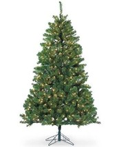 Sterling 7' Dakota Pine Christmas Tree with Clear Lights NEW Open Box - $169.99