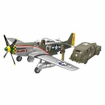 TAMIYA P-51D MUSTANG & US ARMY STAFF CAR 1/48 scale kit w/Track# Japan New - $67.89