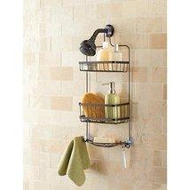 Mainstays Premium Over the Shower Caddy, Bronze - $33.69