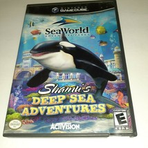 SeaWorld: Shamu's Deep Sea Adventures (Nintendo GameCube, 2005) - $4.95