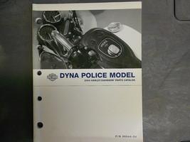 2004 Harley Davidson Dyna Police Models Parts Catalog Manual FACTORY OEM 04 - $39.55