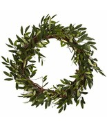 Nearly Natural 4773 Olive Wreath, 20-Inch, Green - $76.35
