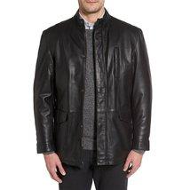 Cool Style Men Short Leather Coat